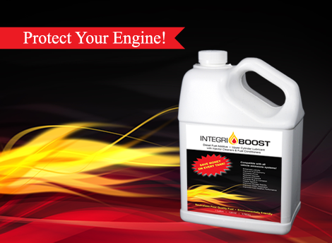 IntegriBoost performance diesel fuel additive